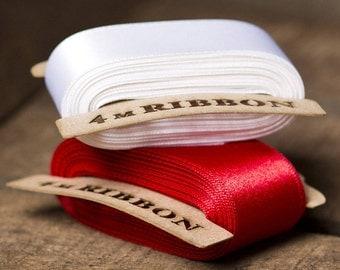 Satin Red Ribbon