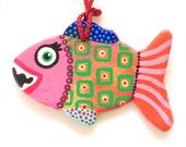 Colorful Fish Ornament