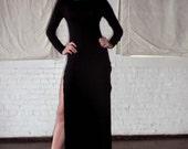 Double Side Slit Maxi Dress Also Plus Size