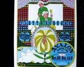 Flatt and Scruggs Family Dog Avalon Ballroom Concert  Postcard Flier Orig 1967 FD 94
