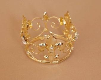 Newborn Rhinestone Crown Tiara Photo Prop #11