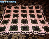 READY TO SHIP Beautiful Girl Baby Blanket