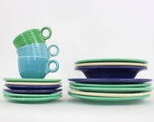Fiesta Dishes by Homer Laughlin Assorted Colorful Dishes Circa 1930s - Astarix