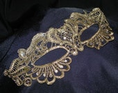Soft Lace Masquerade Mask - Sparkly and Sassy