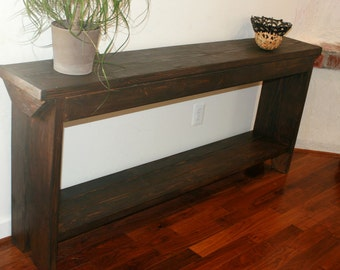 5 foot console / 5 foot sofa table / 5 foot entryway table