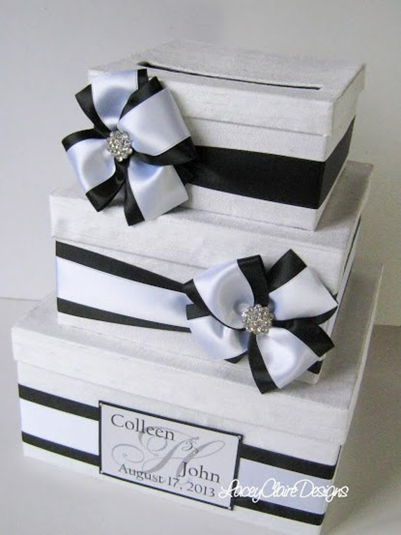 Wedding Gift Card Money Box - You customize colors and accessories