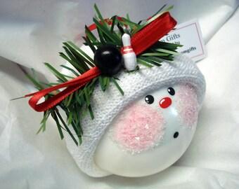 Bowling Ornament Pin Ball Christmas Townsend Custom Gifts