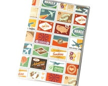 PASSPORT COVER - Travel Stamps