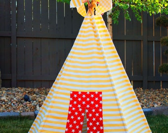 Children's Teepee Pattern