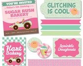 Custom Listing- Sugar Rush/Wreck It Ralph Printable/DIGITAL Collection