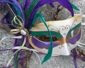 Royal Mardi Gras Masquerade Mask