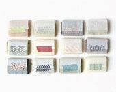 Some of Each Please Gift Set - 12 Vegan Handmade Soap Samples made with Organic Ingredients
