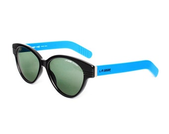 vintage sunglasses by la gear - vintage wayfarer sunglasses - 80s oversized sun glasses for men and women