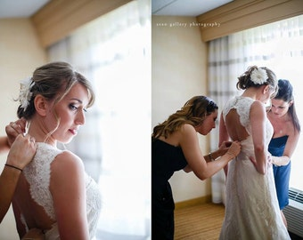 Bridal Feather Fascinator, Bridal Fascinator, Feather Fascinator, Fascinator, Birdcage Veil, Weddings, Wedding Accessories