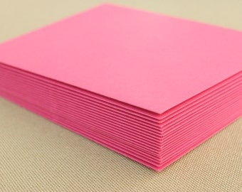 Hot Pink Envelope Set / Set of 20 Bright Pink Envelopes