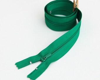 50cm (19.5 inches) zipper 55284-1 green