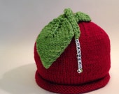 Special Order: Four Cranberry Hats Handmade Knit
