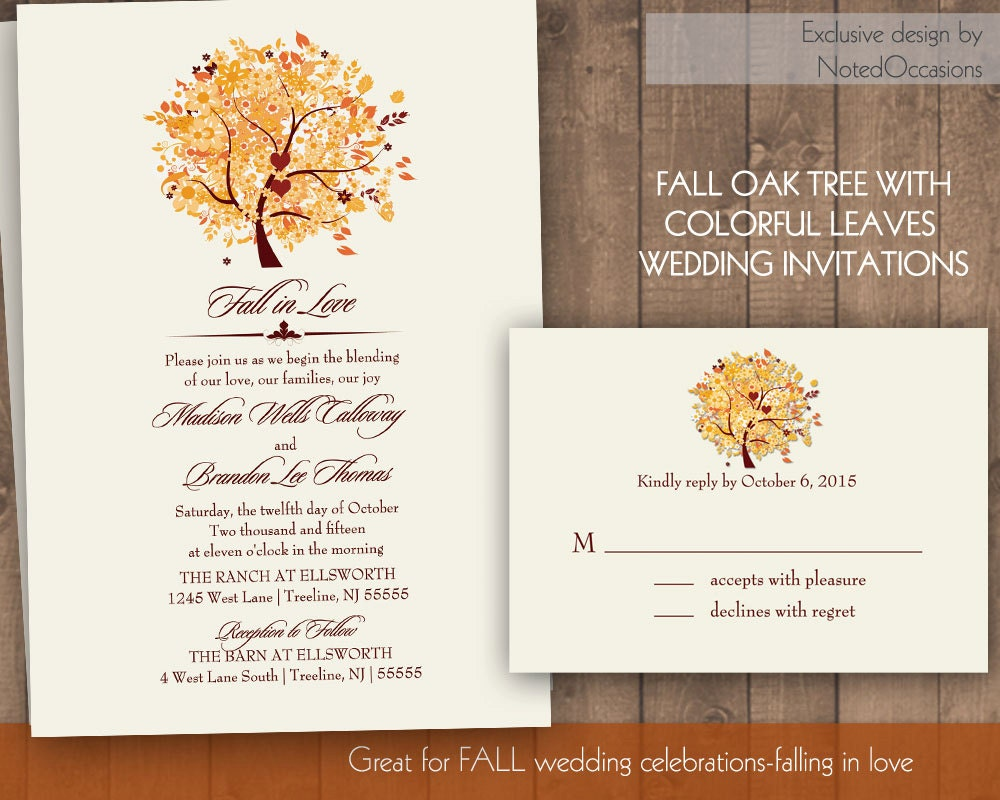 Rustic Fall Wedding Invitations: Chandeliers & Pendant Lights
