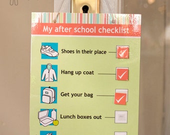 My after school checklist - digital download
