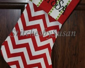 Christmas Stockings Personalized Embroidered