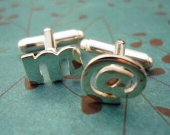 cufflinks initial cufflinks letter cufflinks initials cufflinks groomsmen gift best man groom wedding for him men