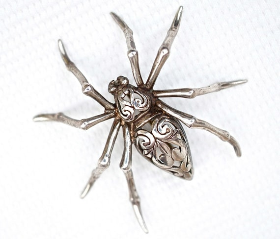 Spider Brooch | eBay