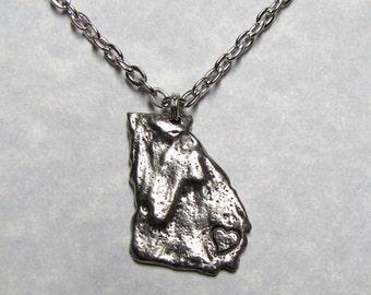 Georgia Love State Necklace Pendant