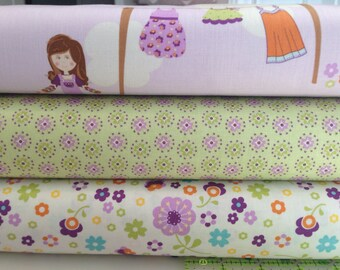 Fabric, Yardage, Dress Up Days Doohikey Designs for Riley Blake