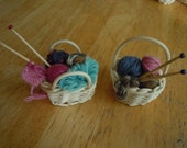 Mini Knitting Baskets
