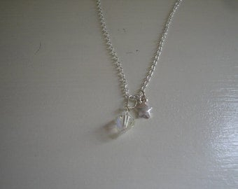 Silver Chain with Star Crystal