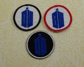 Doctor Who Circle Sew On Patch