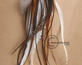 Long Feather Earrings Warrior Tribal Earrings Feather Accessory Tribal Jewelry Natural Feather Earrings Tribal Feather Earrings Handmade