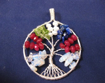 Mother's Tree of Life Pendant