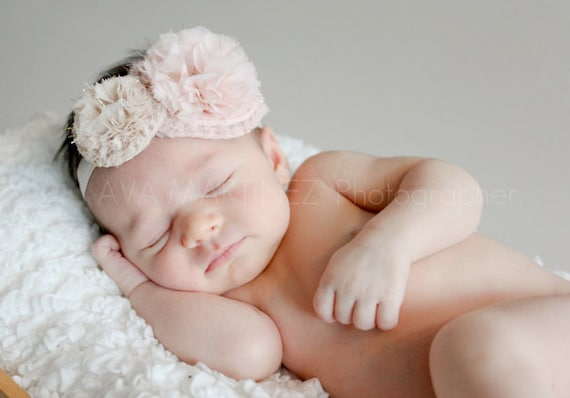 items similar to baby headbands newborn headbands items similar to baby headband newborn headband