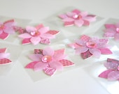 Cherry Blossom - Colorful Petal 3D stickers (2 stickers)