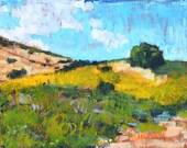 Crystal Cove, Laguna Beach, California Landscape Painting