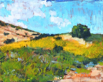 Crystal Cove, Laguna Beach, California Landscape Painting