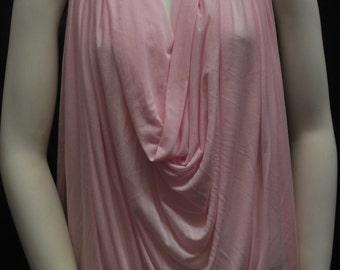 Micro Modal Silk Sheer Jersey Bubblegum 10 yards Cut