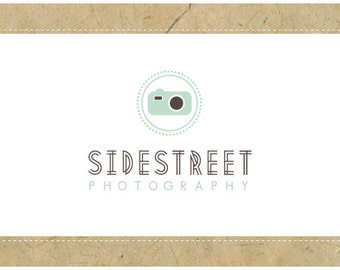 SALE - PreDesigned CUSTOM Logo Design SIDESTREET Logo