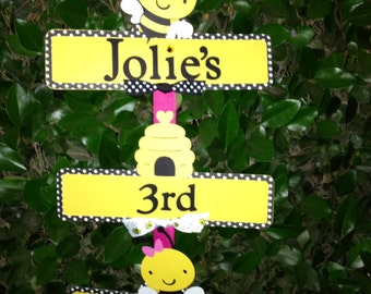 Bumble Bee Party Sign