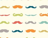 Staches - Multi - Just For Fun - 1/2 yard - GOTS Certified Organic