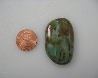 Green Tree Turquoise Cabochon