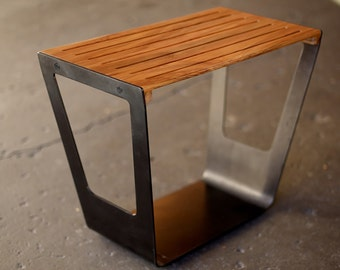 Giddyup Stool | Metal and Wood