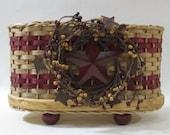 Napkin Basket / Jelly Basket / Handwoven Basket