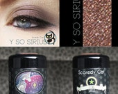 Natural Mineral Eye Shadow - Golden Burgandy  Scaredy Cat - Y So Sirius - 5 mL Sifter