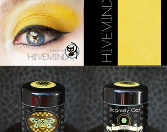 Matte Yellow Eye Shadow  - Loose Eyeshadow - Scaredy Cat - HIVEMIND - 5 mL Sifter