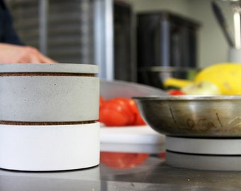MODULE 6/6 Modular Stacking Bowls. Salt Cellars. Stacking Containers