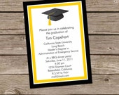Graduation Annoucement, Graduation party invitations, CUSTOM