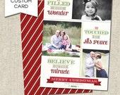 Custom Miracle Christmas Card - Printable PDF