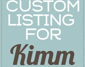 Custom Listing for Kimm - Lime Holiday Banner Letters - Instant Download PDF